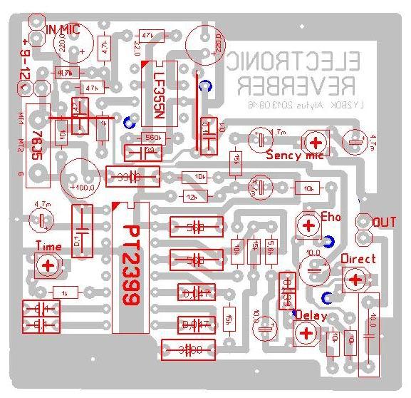 Схема ревербератора