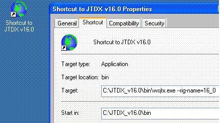 JTDX installation notes